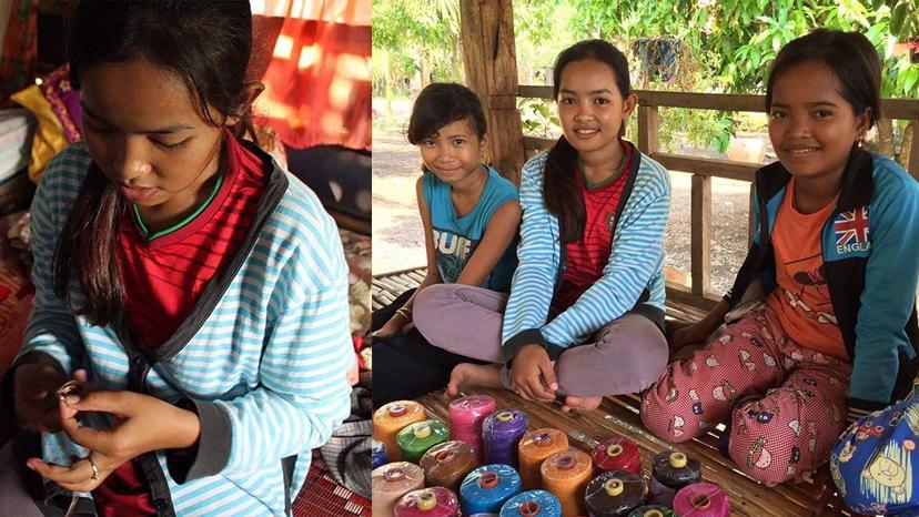 カンボジアの工芸展